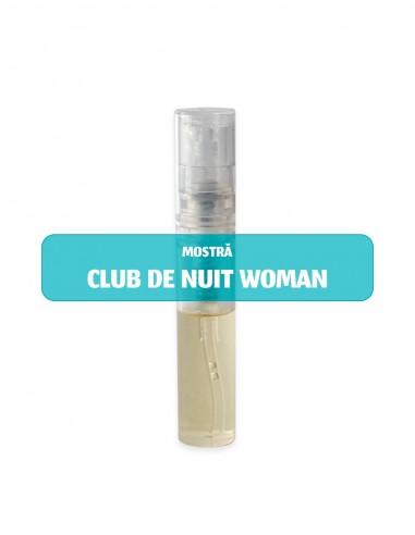 Mostră parfum damă CLUB DE NUIT WOMAN...