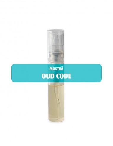 Mostră parfum unisex OUD CODE 2 ml