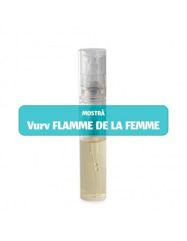 Mostră parfum damă Vurv FLAMME DE LA...