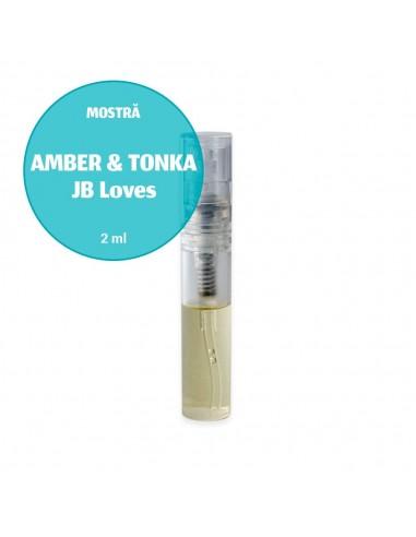 Mostră parfum unisex AMBER & TONKA JB...