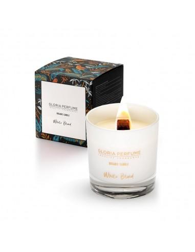 Lumânare parfumată naturală Gloria Perfume WHITE BLEND 220g