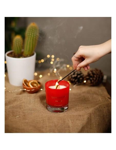 Lumânare parfumată naturală Gloria Perfume CINNAMOMI 220g