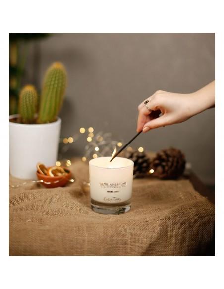 Lumânare parfumată naturală Gloria Perfume EXOTIC FRUITY 220g